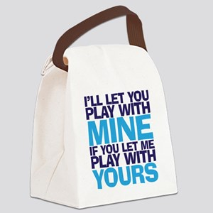 playmine copy Canvas Lunch Bag