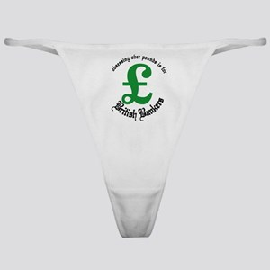 British Bankers Classic Thong