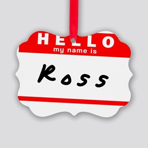 Ross Picture Ornament