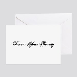 Know Your Beauty Greeting Cards (Pk of 10)
