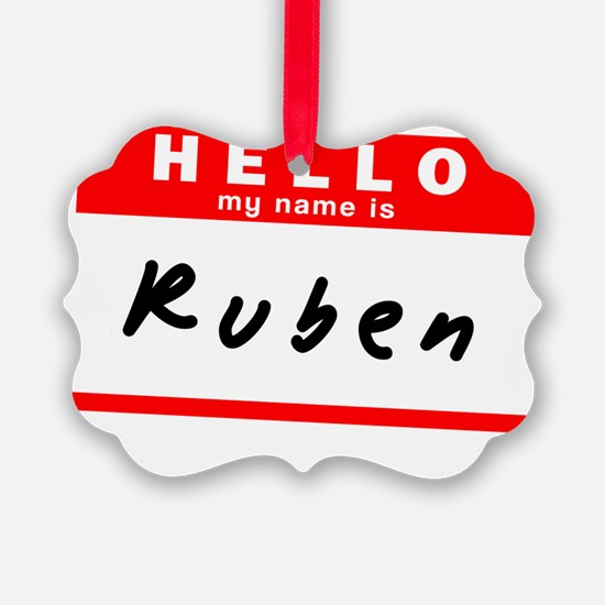 Ruben Ornament