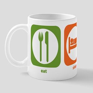 Eat Sleep Drive Bus Mug