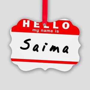 Saima Picture Ornament