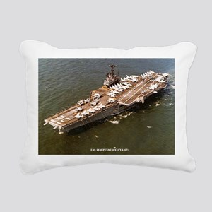 independence cva large f Rectangular Canvas Pillow