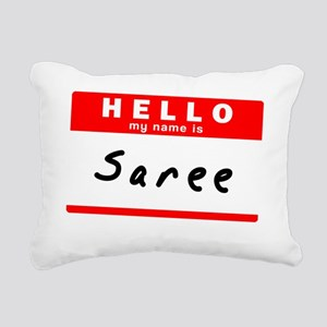 Saree Rectangular Canvas Pillow