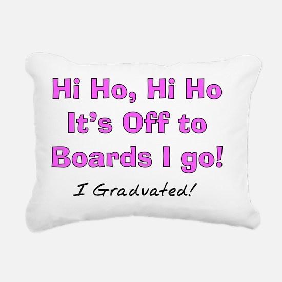 Hi Ho Rectangular Canvas Pillow