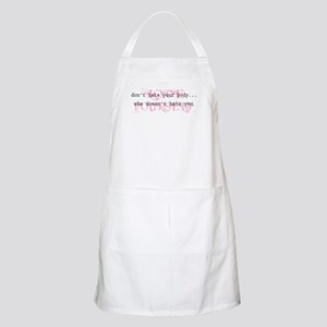 Don't Hate Your Body/Love You BBQ Apron
