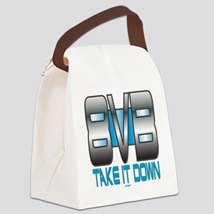 Take It Down dk Canvas Lunch Bag
