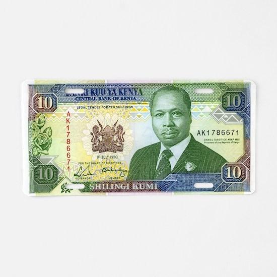Kenya Aluminum License Plate