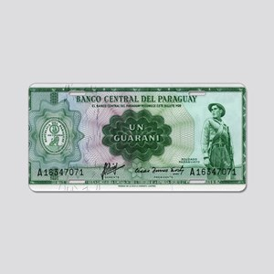 Paraguay Aluminum License Plate