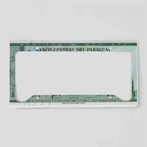 Paraguay License Plate Holder