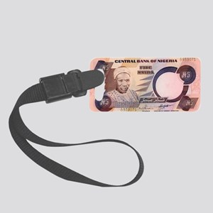 Nigeria Small Luggage Tag