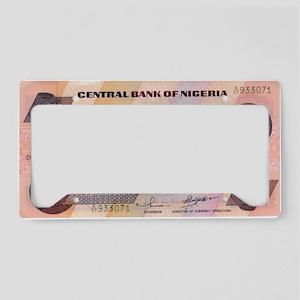 Nigeria License Plate Holder