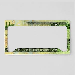 Republica Dominicana License Plate Holder