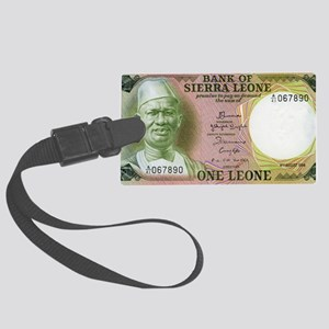 Sierra Leone Large Luggage Tag