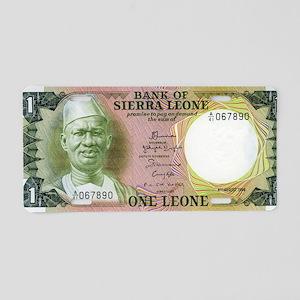 Sierra Leone Aluminum License Plate