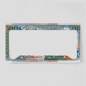 Somalia License Plate Holder