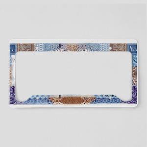 Syria License Plate Holder