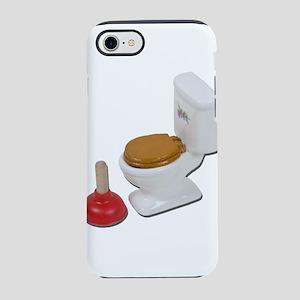 ToiletLargePlunger051411 iPhone 7 Tough Case