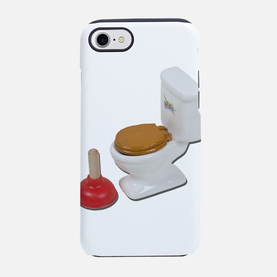ToiletLargePlunger051411.png iPhone 7 Tough Case