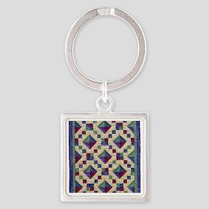 jewel_box_sq Square Keychain