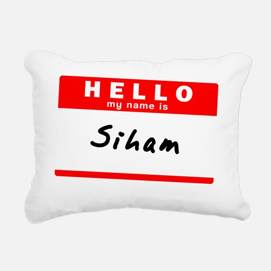 Siham Rectangular Canvas Pillow