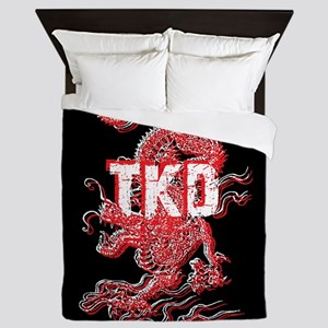 Taekwondo Dragon Queen Duvet