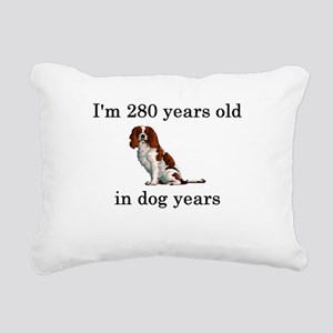 40 birthday dog years springer spaniel Rectangular
