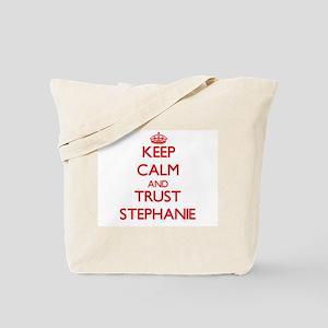 Keep Calm and TRUST Stephanie Tote Bag