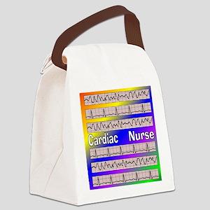ff cardiac nurse 1 Canvas Lunch Bag