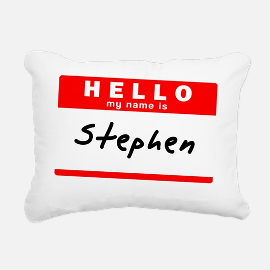 Stephen Rectangular Canvas Pillow