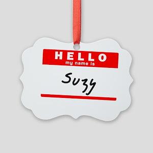 Suzy Picture Ornament