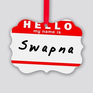 Swapna Picture Ornament