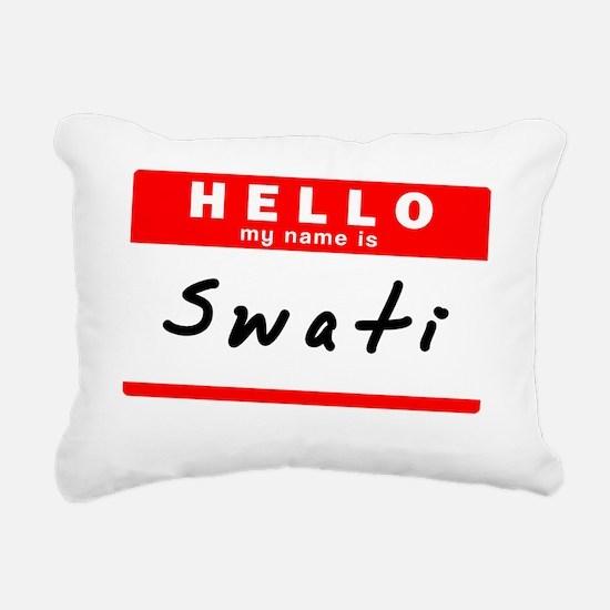 Swati Rectangular Canvas Pillow