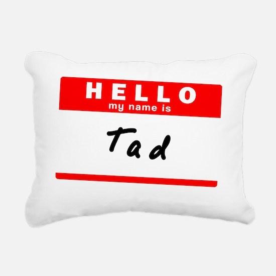 Tad Rectangular Canvas Pillow