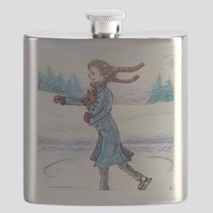 hitching a lift - cairn Flask