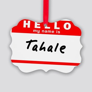 Tahale Picture Ornament