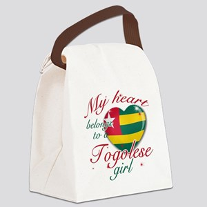togolese girl Canvas Lunch Bag