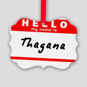 Thagana Picture Ornament