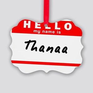 Thanaa Picture Ornament