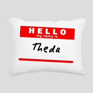 Theda Rectangular Canvas Pillow