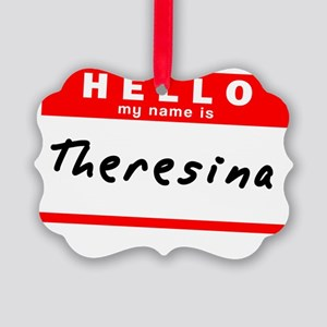 Theresina Picture Ornament