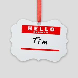 Tim Picture Ornament