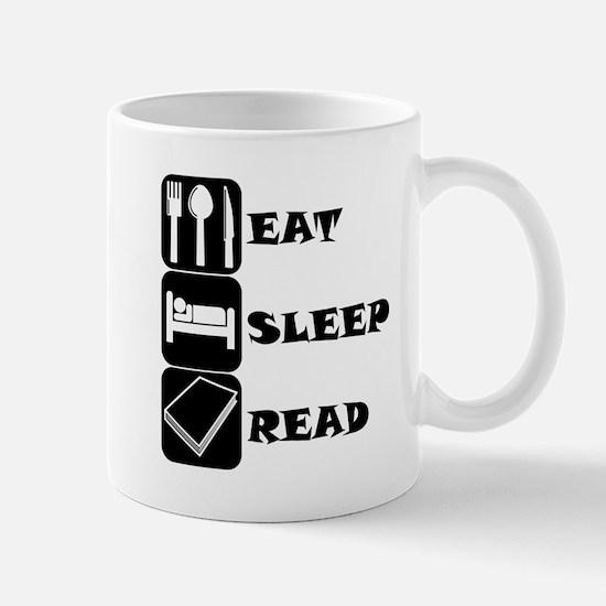 Eat Sleep Read Mugs