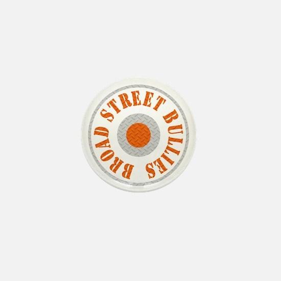 Broad Street Bullies Steel BLk Mini Button