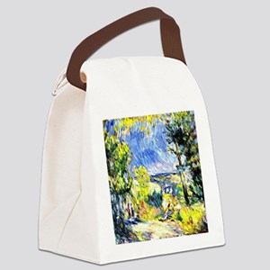 Renoir: View Close to Antibes Canvas Lunch Bag