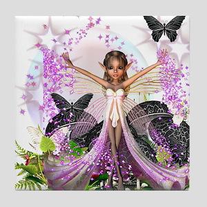 Garden Fairies - Elf Series 10 Tile Coaster
