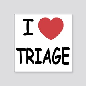 "TRIAGE222 Square Sticker 3"" x 3"""