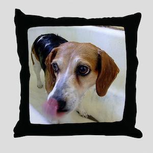 Bath Day II Throw Pillow