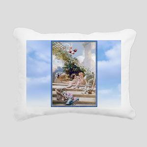 LAPTOP MAKOVSKY Rectangular Canvas Pillow